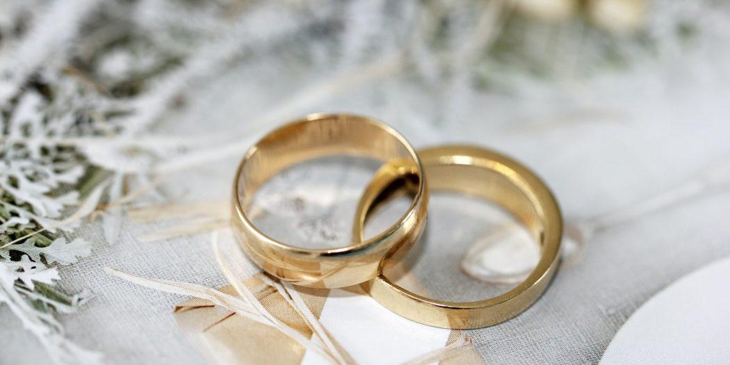 złote obrączki rozwód