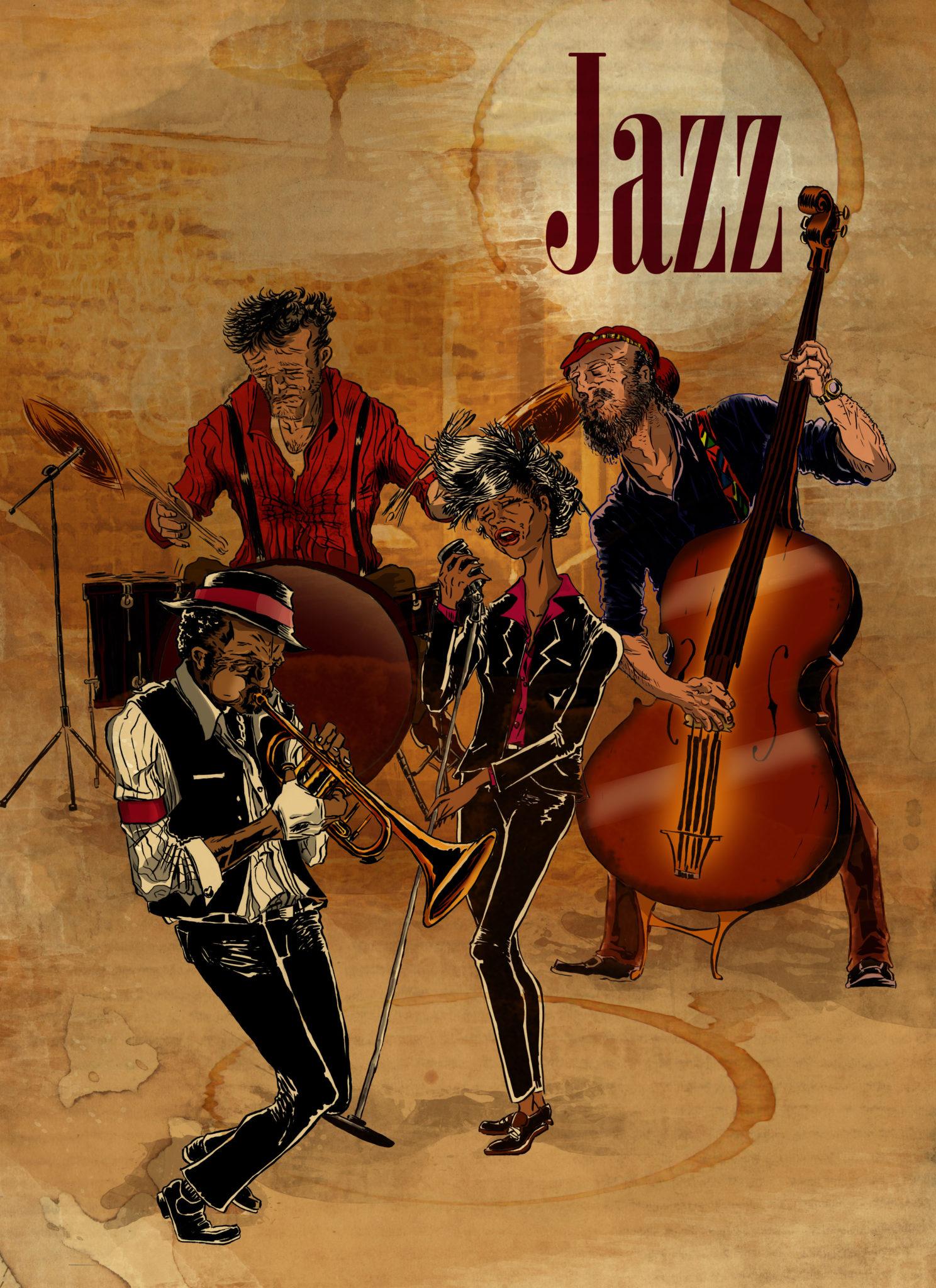 zespół jazzowy w Nowym Orleanie