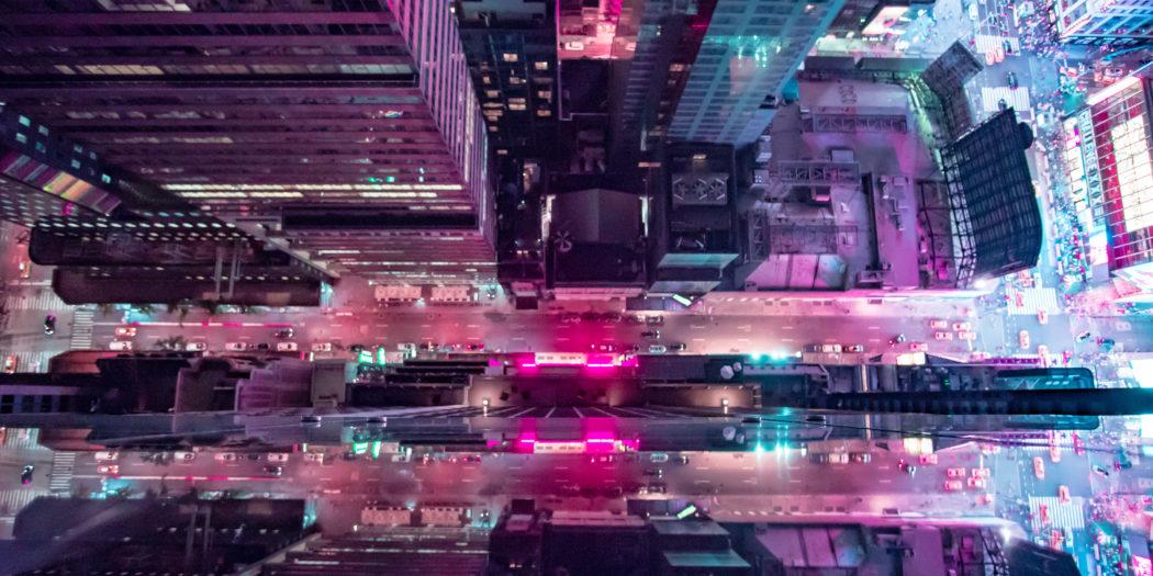 Futurystyczny Nowy Jork