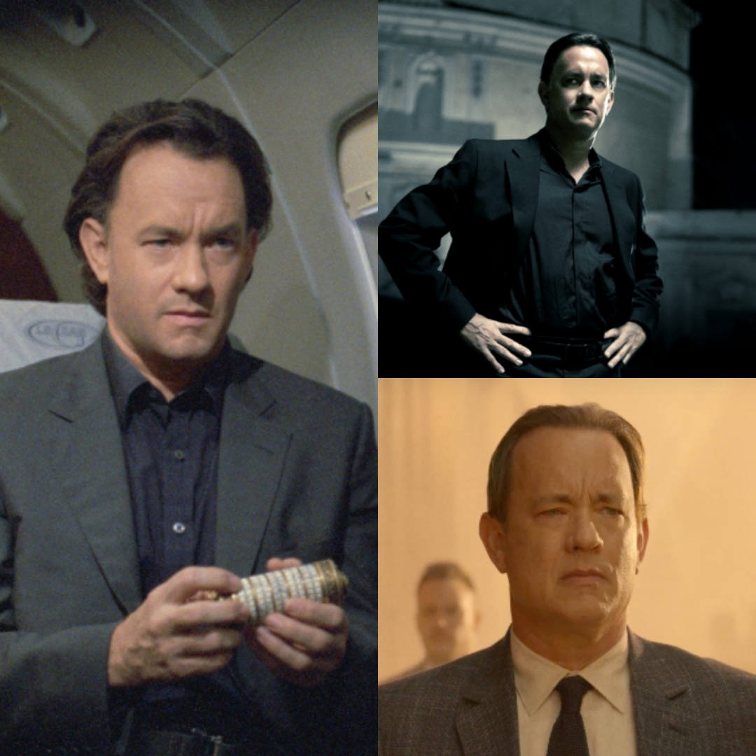Tom Hanks jako Robert Langdon