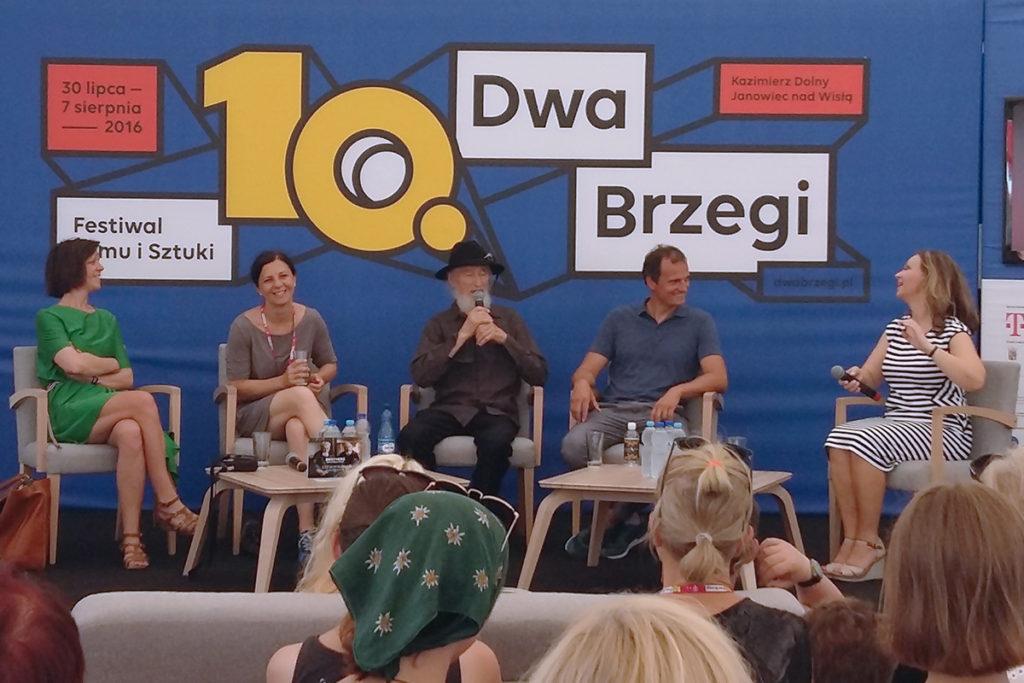 """Spotkanie autorskie filmu """"Bracia"""" na Festiwalu Dwa Brzegi"""