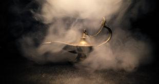 zamglona lampa Alladyna