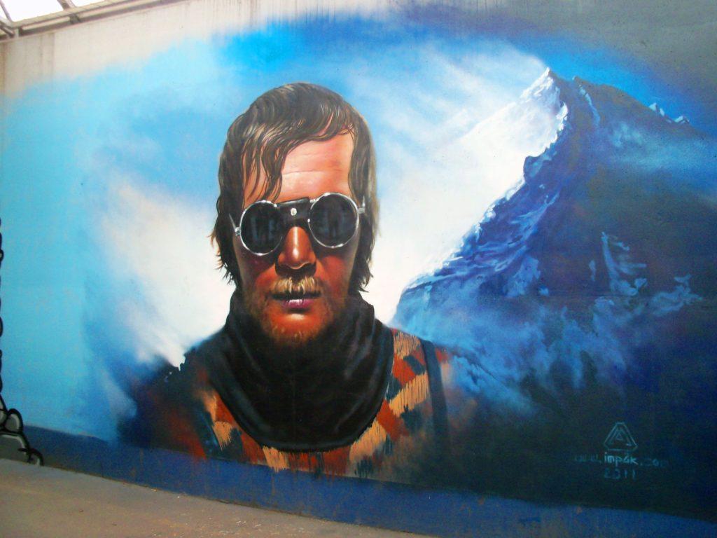 Jerzy Kukuczka graffiti