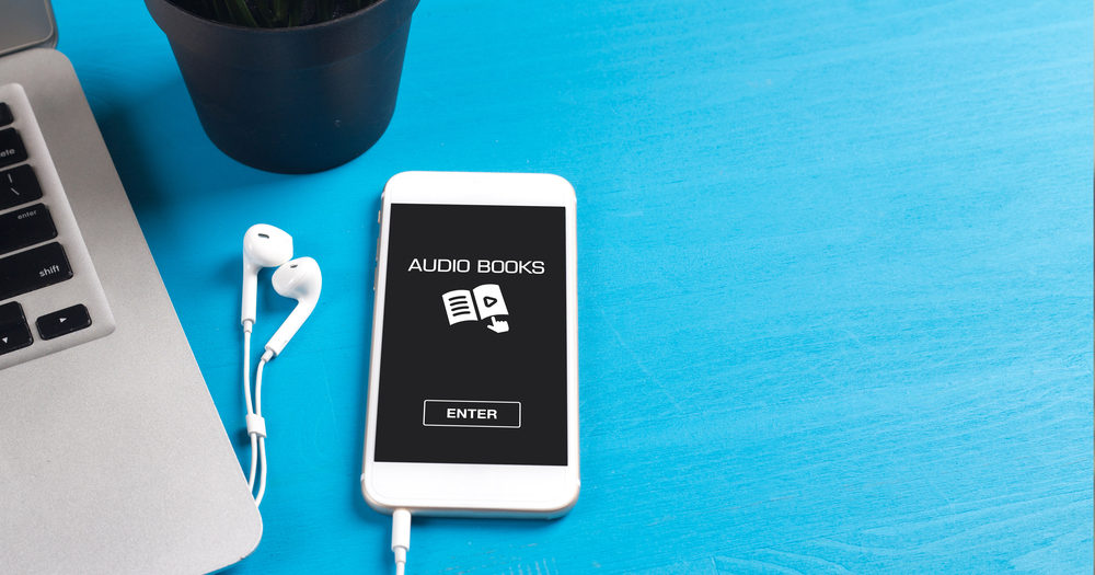 audiobook na smartfonie