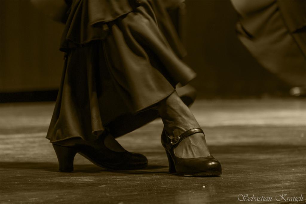 Flamenco to precyzja ruchów | fot.: Sebastian Krauch