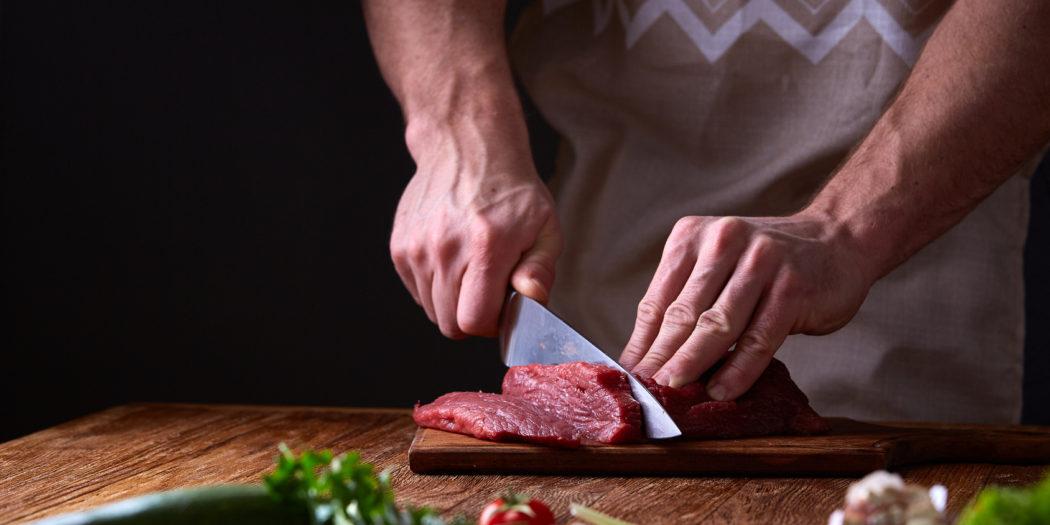mięso z probówki