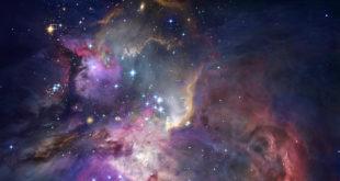 mgławica i gwiazdy kosmos