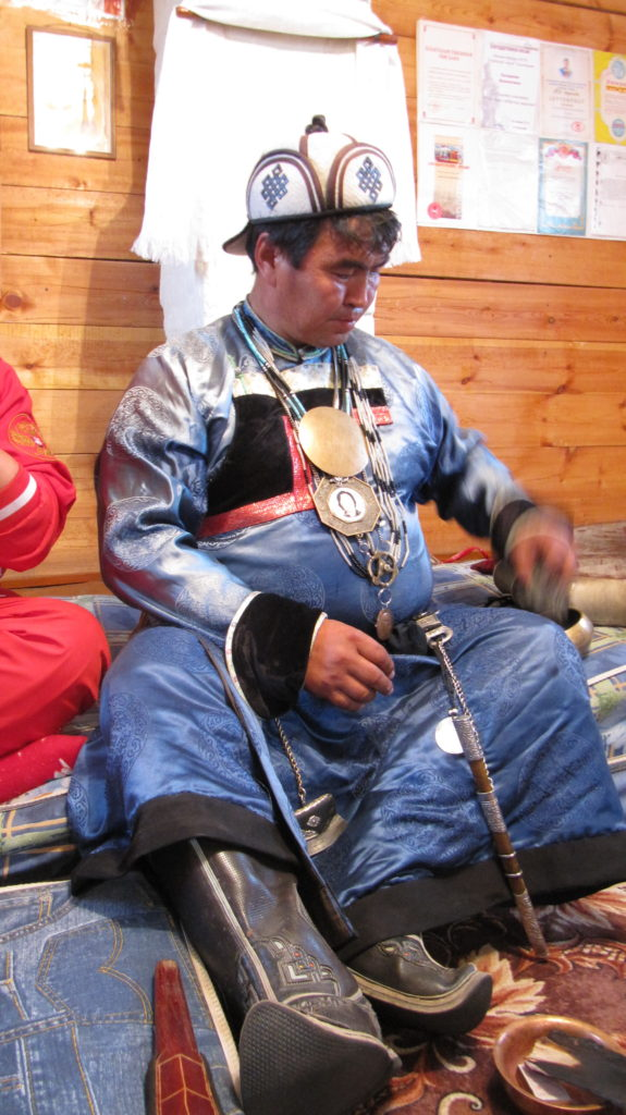 Walentin Chagdajew znany buriacki szaman