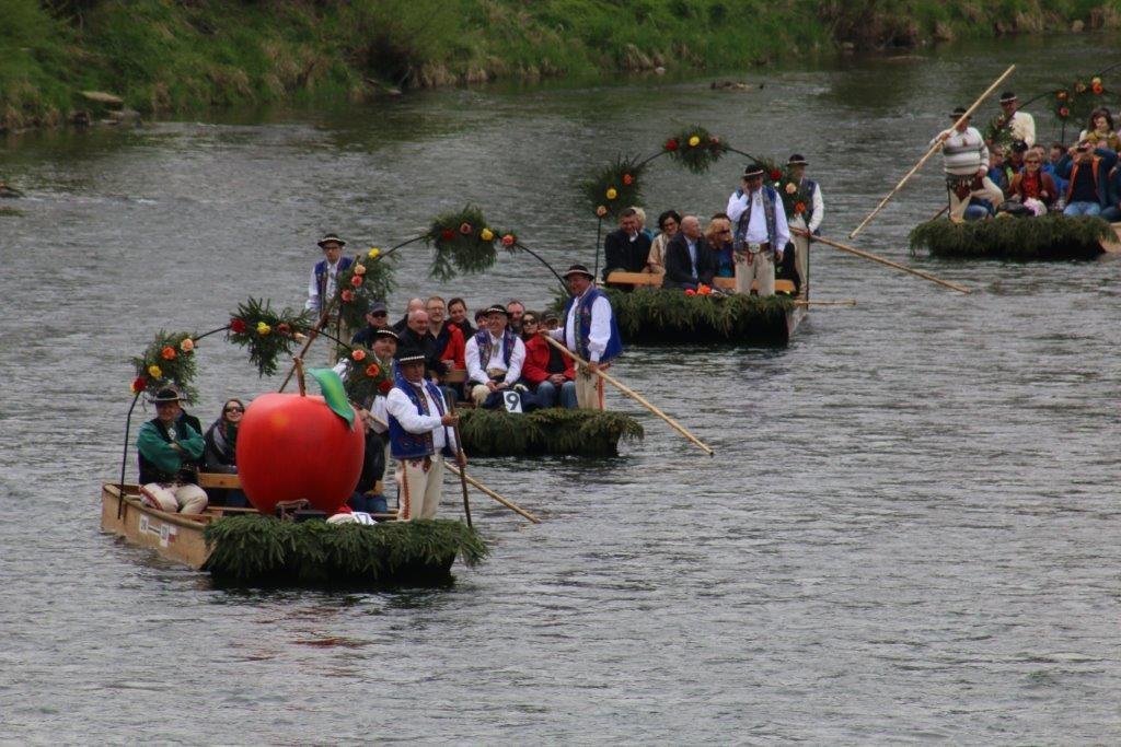 Małopolska spływ Dunajcem