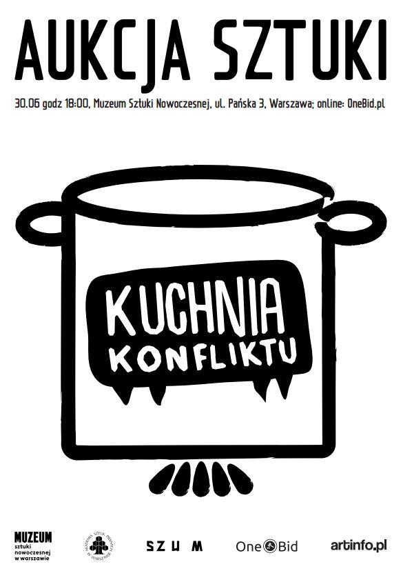 Kuchnia Konfliktu plakat akcji