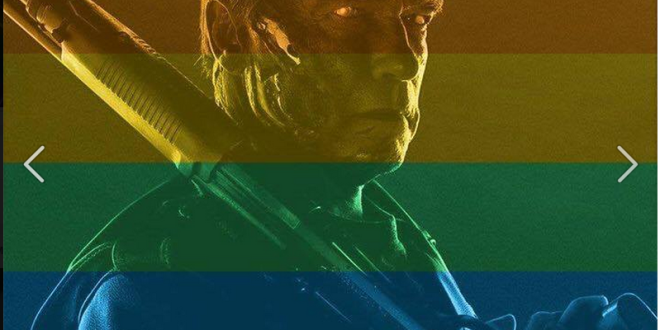 Arnold Schwarzenegger celebratepride