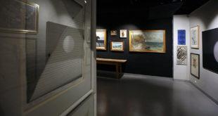 Galeria sztuki obrazy na ścianach