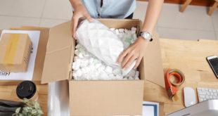 przygotowywanie paczki do wysyłki