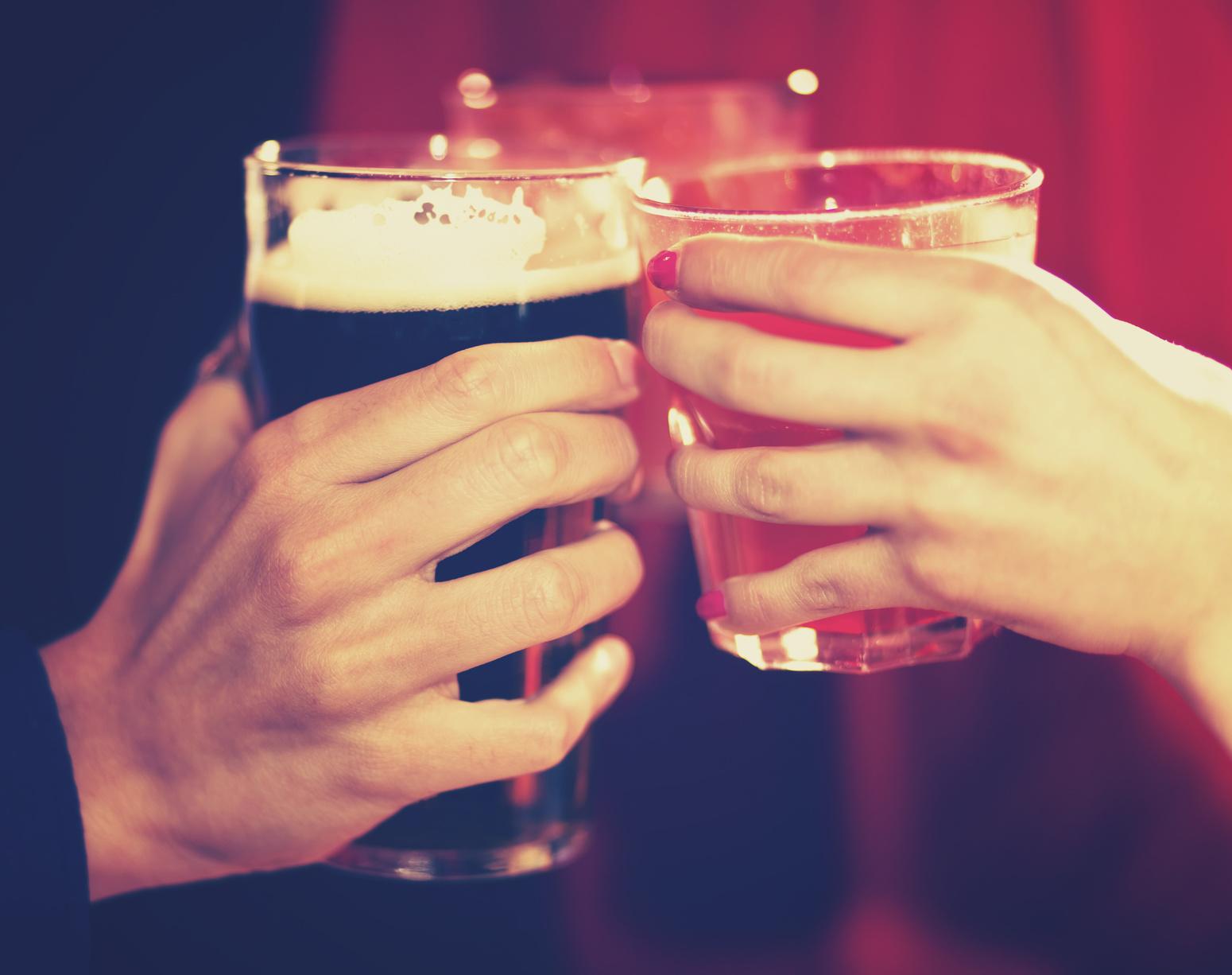 kobiety upijają się szybciej od mężczyzn