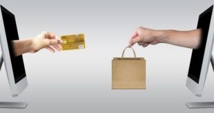 Dwa komputery - zakupy online