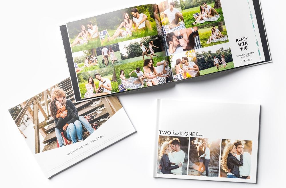 Fotoksiążka - okładka, tył i środek