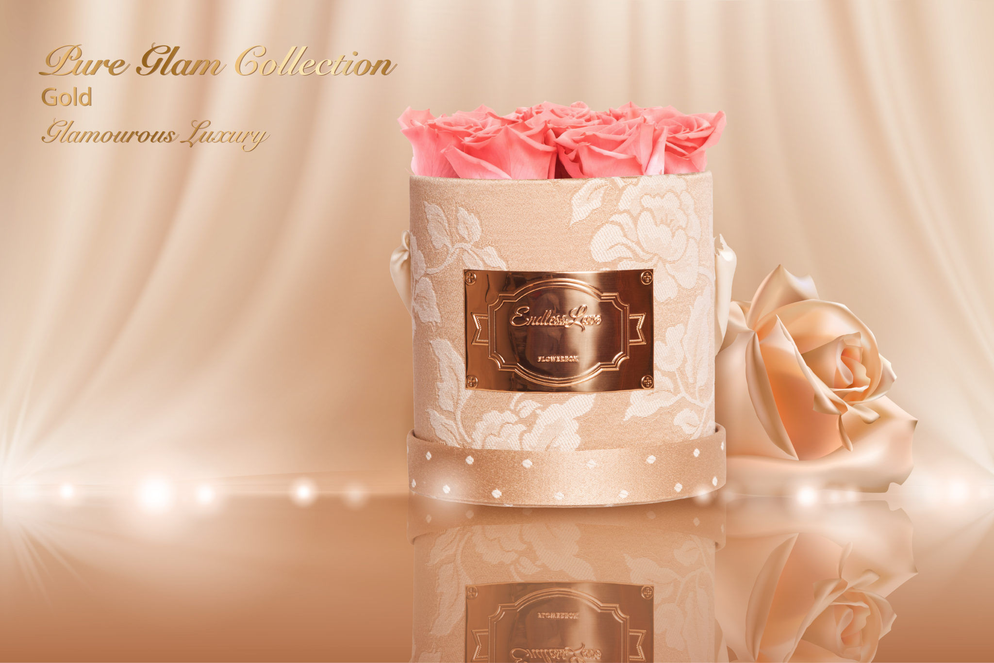 Pure Glam Collection Gold Glamourous Luxury