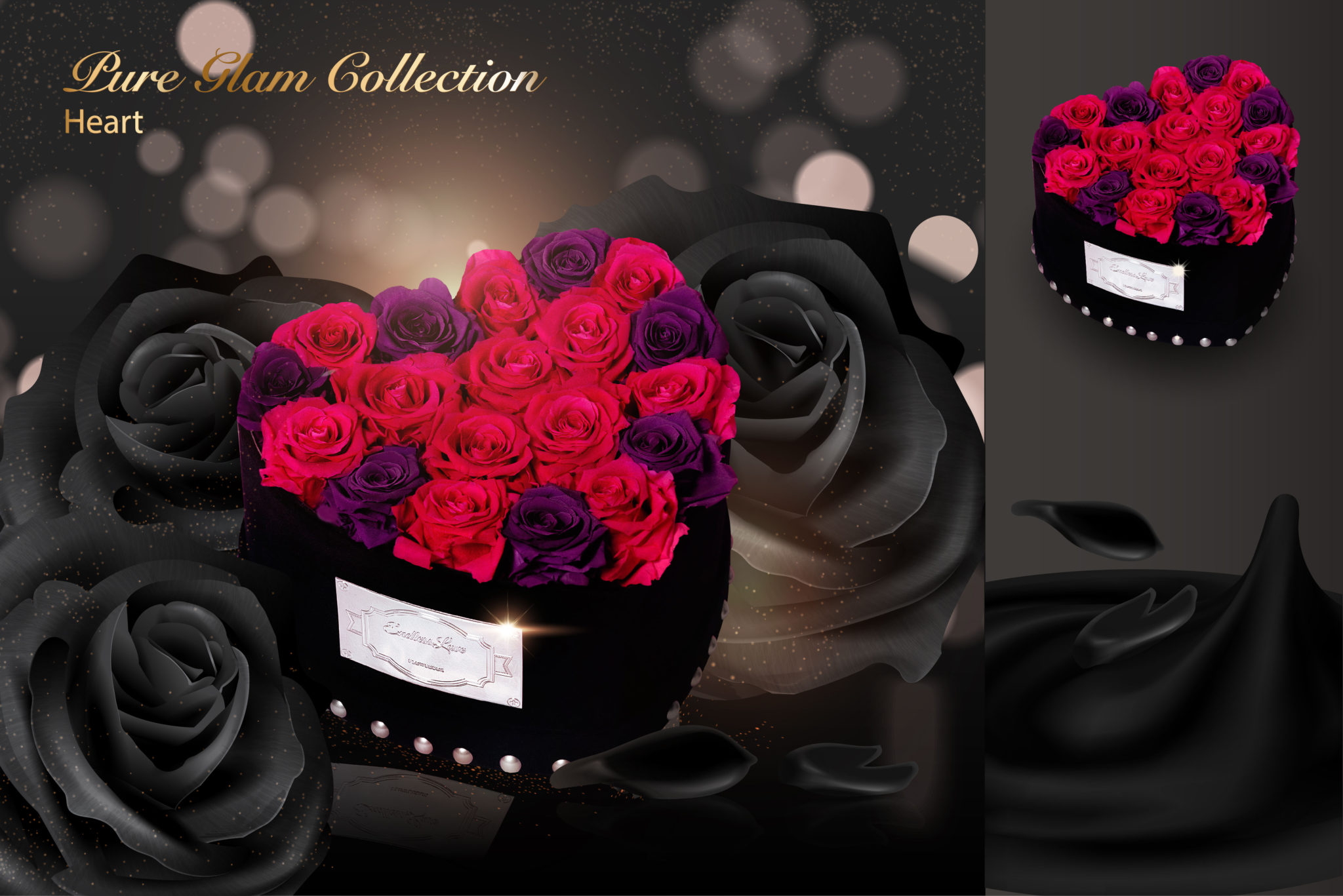 Pure Glam Collection Heart