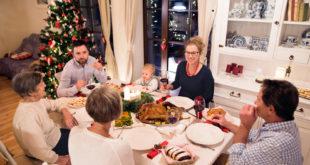 Konflikt przy świątecznym stole