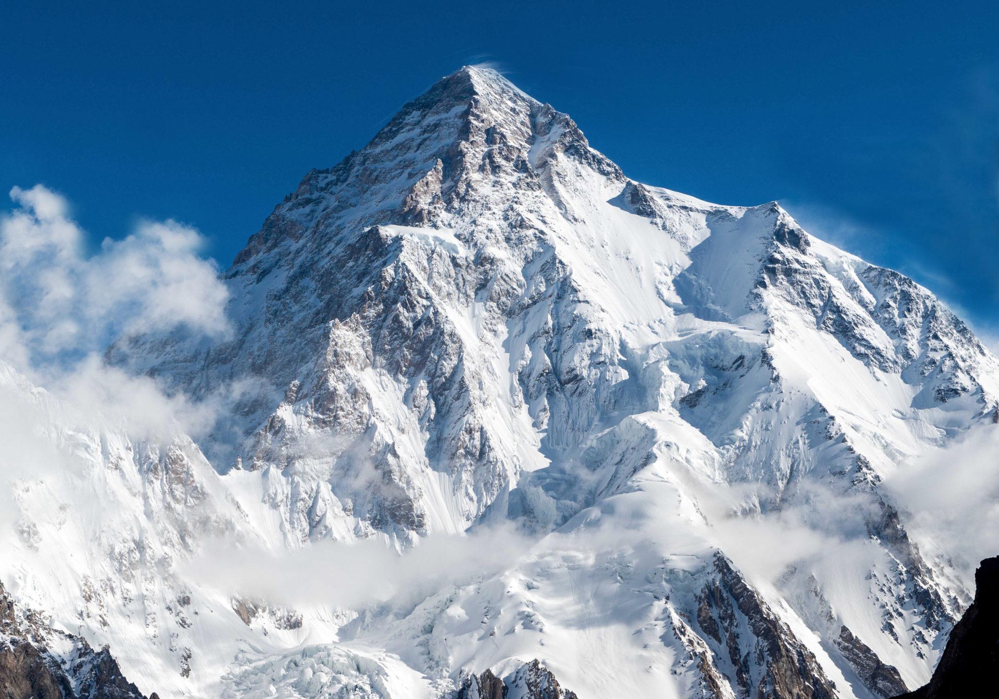 K2najwyższy szczyt Karakorum, drugi co do wysokości szczyt Ziemi