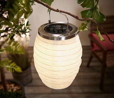 Lampion solarny