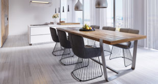 nowoczesny stół w jadalni