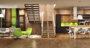 drewniane meble w nowoczesnym domu