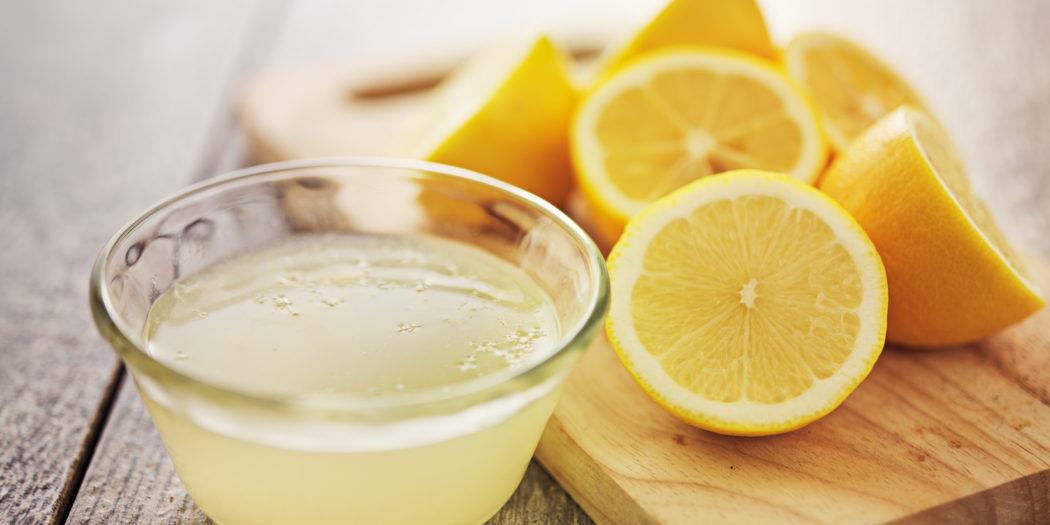 Sok z cytryny w domu bez chemii
