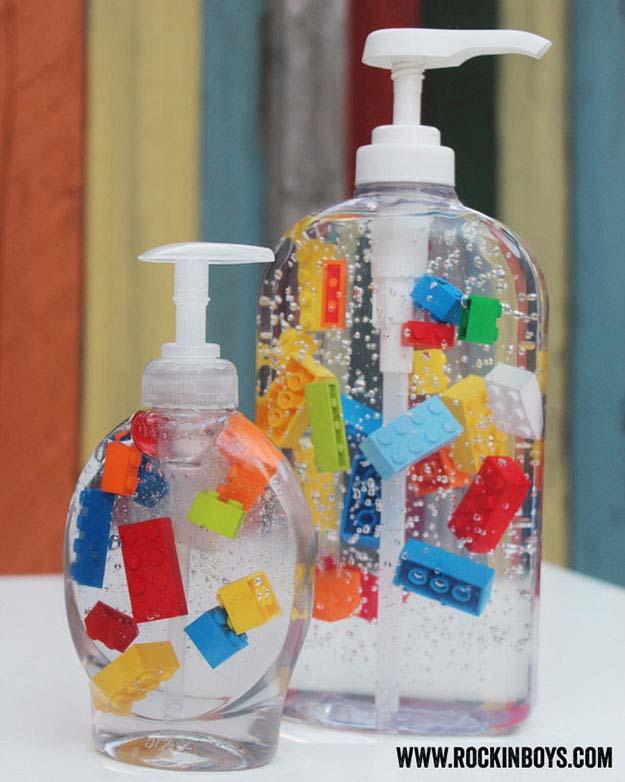 Dozownik mydła - lego