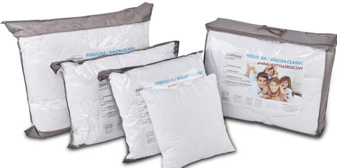 Poduszki i kołdry antyalergiczne