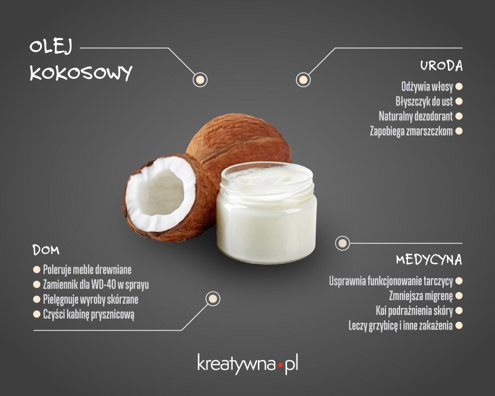 Najpopularniejsze zastosowania oleju kokosowego