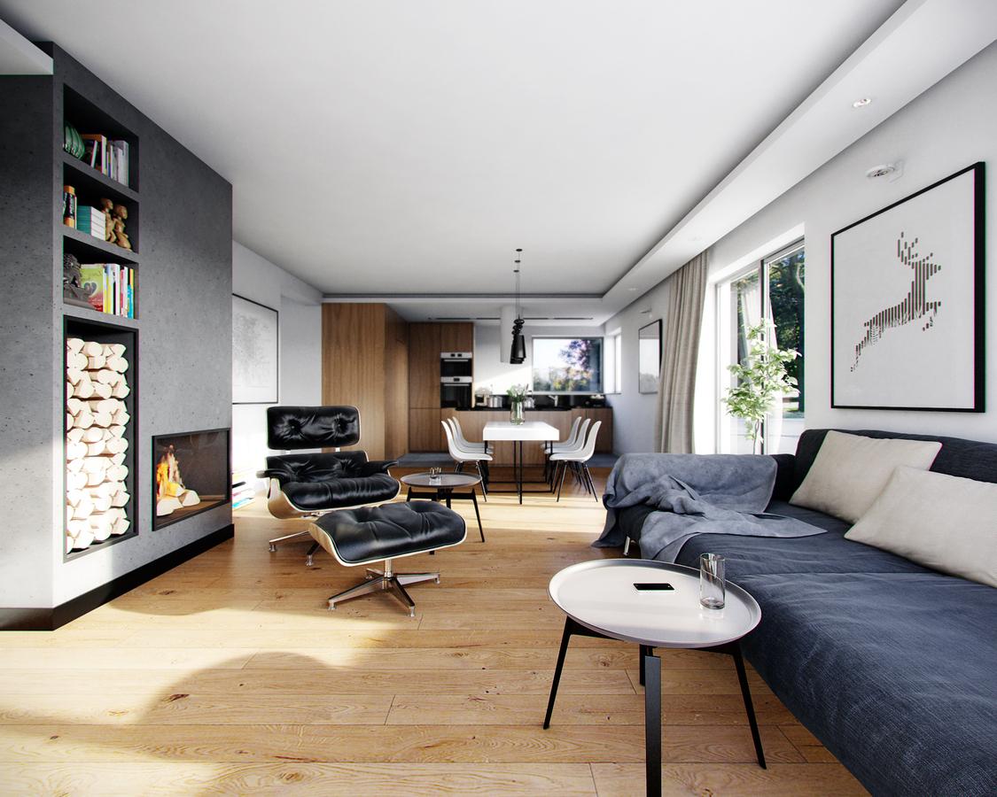 Mieszkanie z planem otwartym