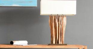 Lampa z korzenia