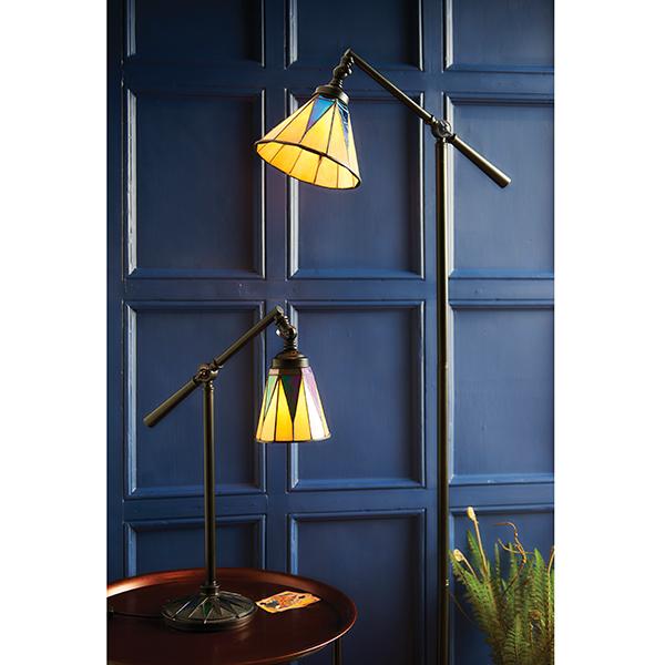Lampy - podłogowa i stołowa