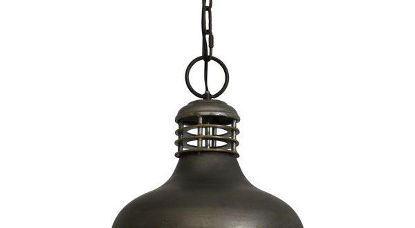 Designerska czarna lampa