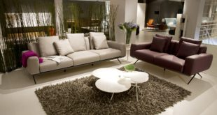 Nowoczesny dywan w salonie