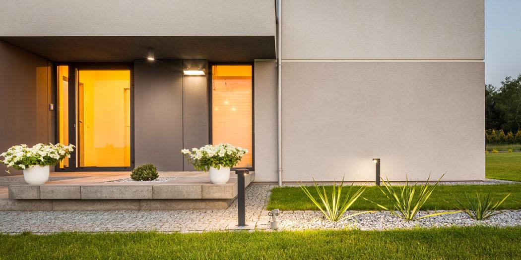 nowy dom oświetlenie