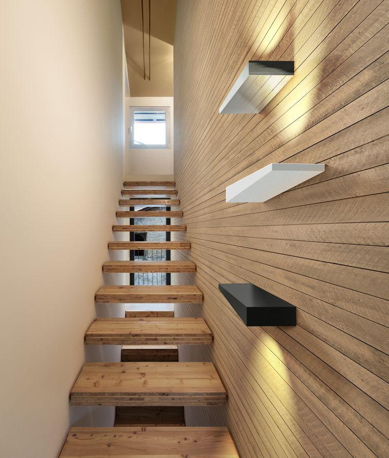 oświetlenie nad schodami