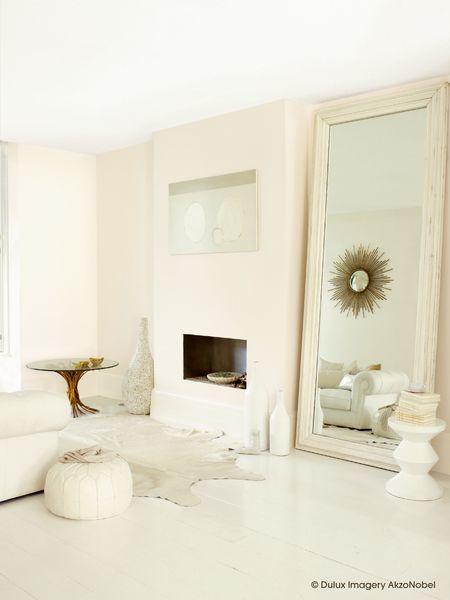 Pokój optycznie powiększony lustrem