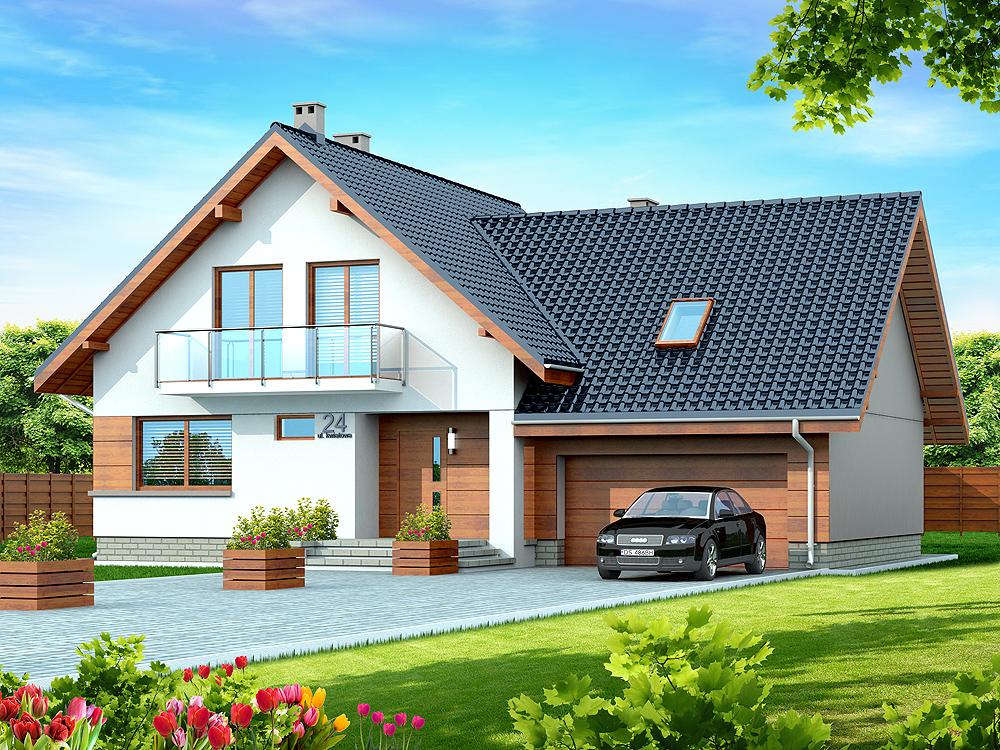 Projekt domu Noelia BIS 2M WOK1052
