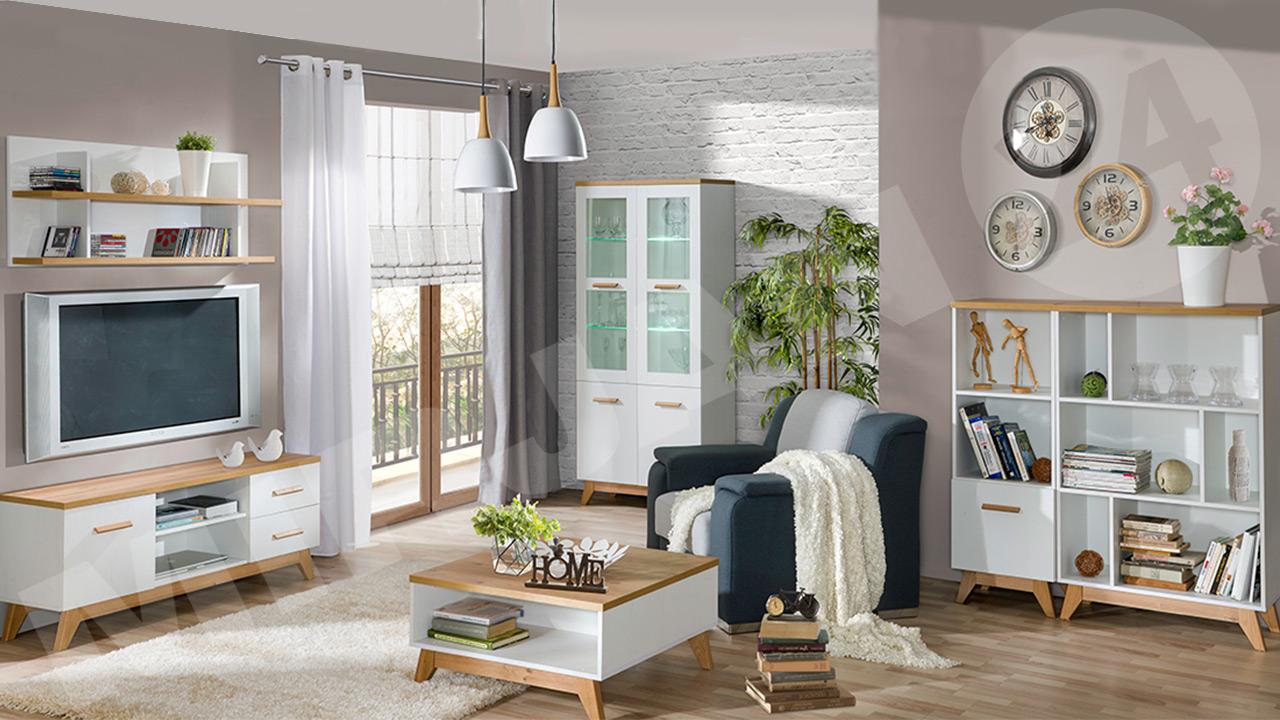 Przytulne wnętrze w stylu skandynawskim
