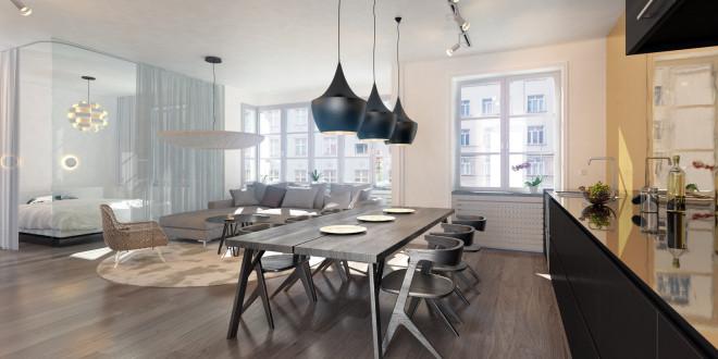 Apartament w stylu francuskim