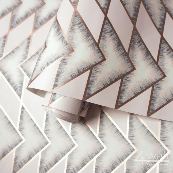 tapeta w geometryczne wzory