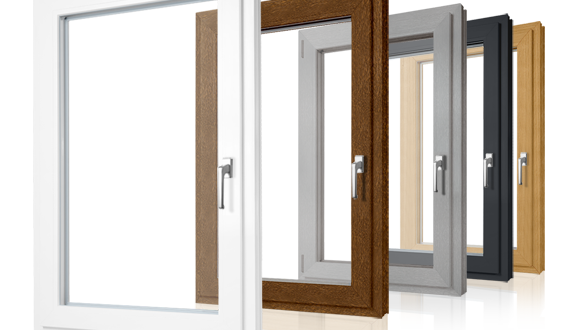 Okna PCV - kolory