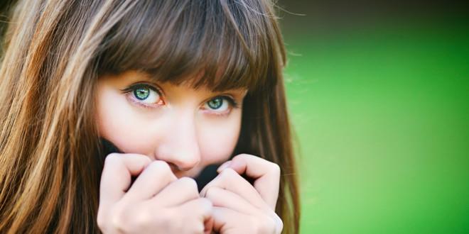 Nieśmiała dziewczyna