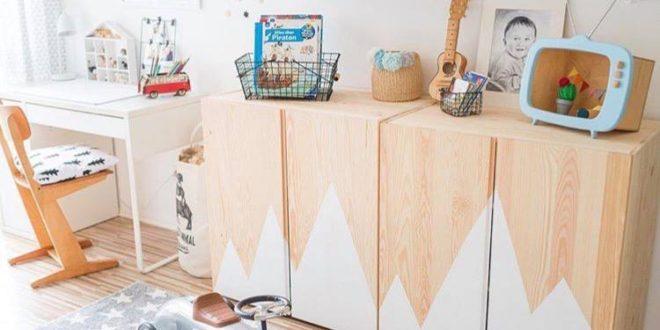 Dywan w ładnym pokoju dziecięcym