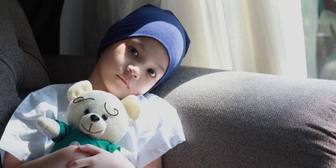 Dziecko z białaczką
