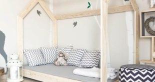 Łóżko - domek
