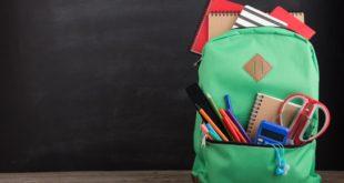 plecak szkolny wraz z wyprawką
