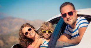 Podróż z rodziną samochodem